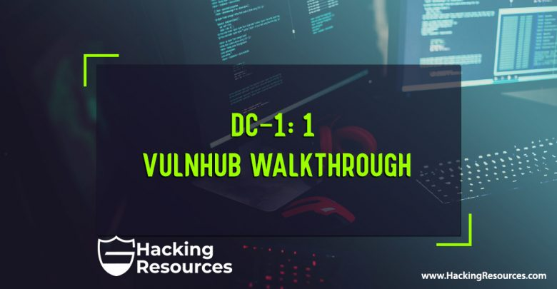 DC-1 vulnhub walkthrough - CyberSecurity