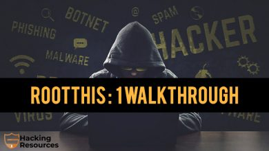 RootThis: 1 walkthrough