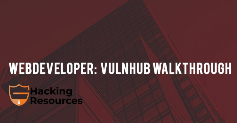 Webdeveloper: 1 vulnhub walkthrough - CyberSecurity