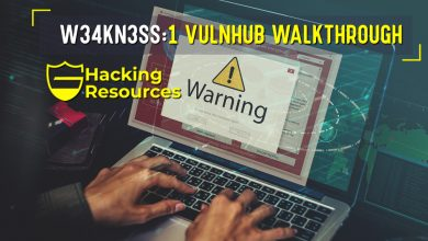W34kn3ss:1 vulnhub walkthrough